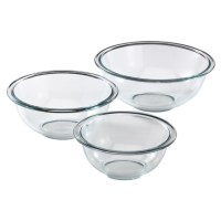 Pyrex 3 Piece Mixing Bowl Set Just $11.99 (Reg. $24.95)