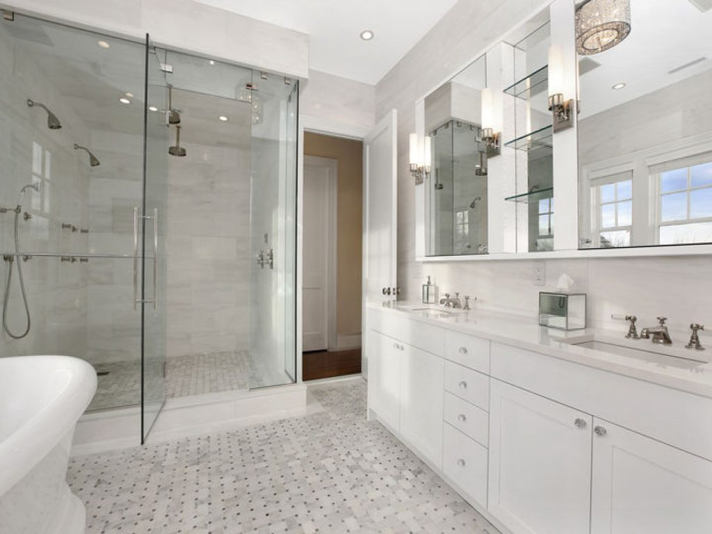 22 White Bathroom Ideas That Will Leave You Enthralled