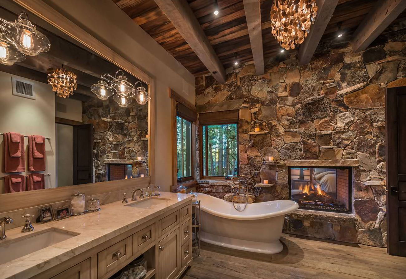 23 Rustic Bathroom Ideas That You Will Adore