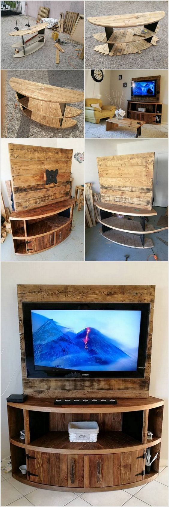 22 Diy Tv Stand Ideas To Unlock Your Creativity