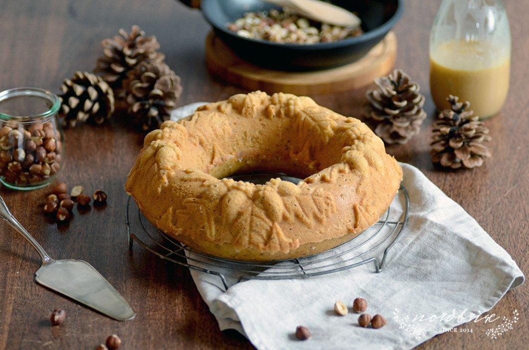 hazelnut autumn cake caramel roasted recipe nordbrise