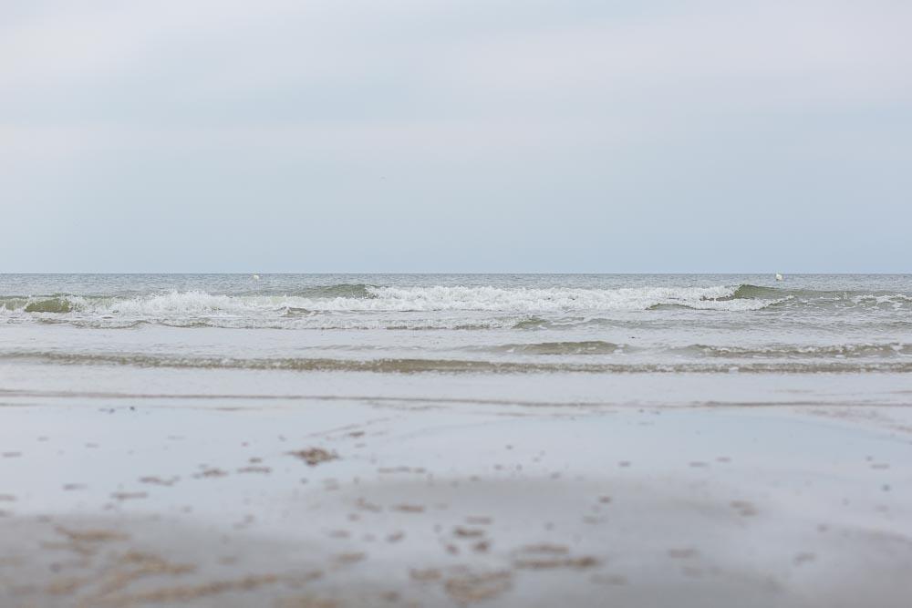 Impressionen der Nordsee in St. Peter Ording am Strand | Fotografie by nordbrise.net | Wilde Wellen