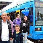 Große Jubiläumsparty am Zentralen Omnibusbahnhof (Foto: Rainer Sander)