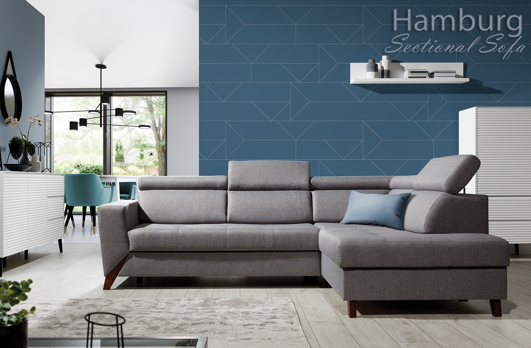 Sofa Hamburg Hamburg Functional Sectional - Nordholtz Furniture