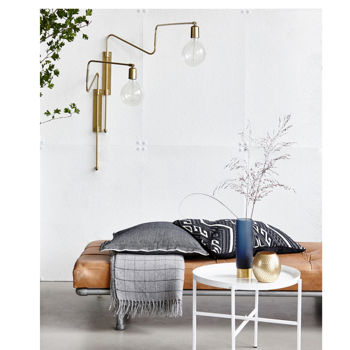 Swing Wall Lamp Wall Lamp Swing Small Brass House Doctor Nordic