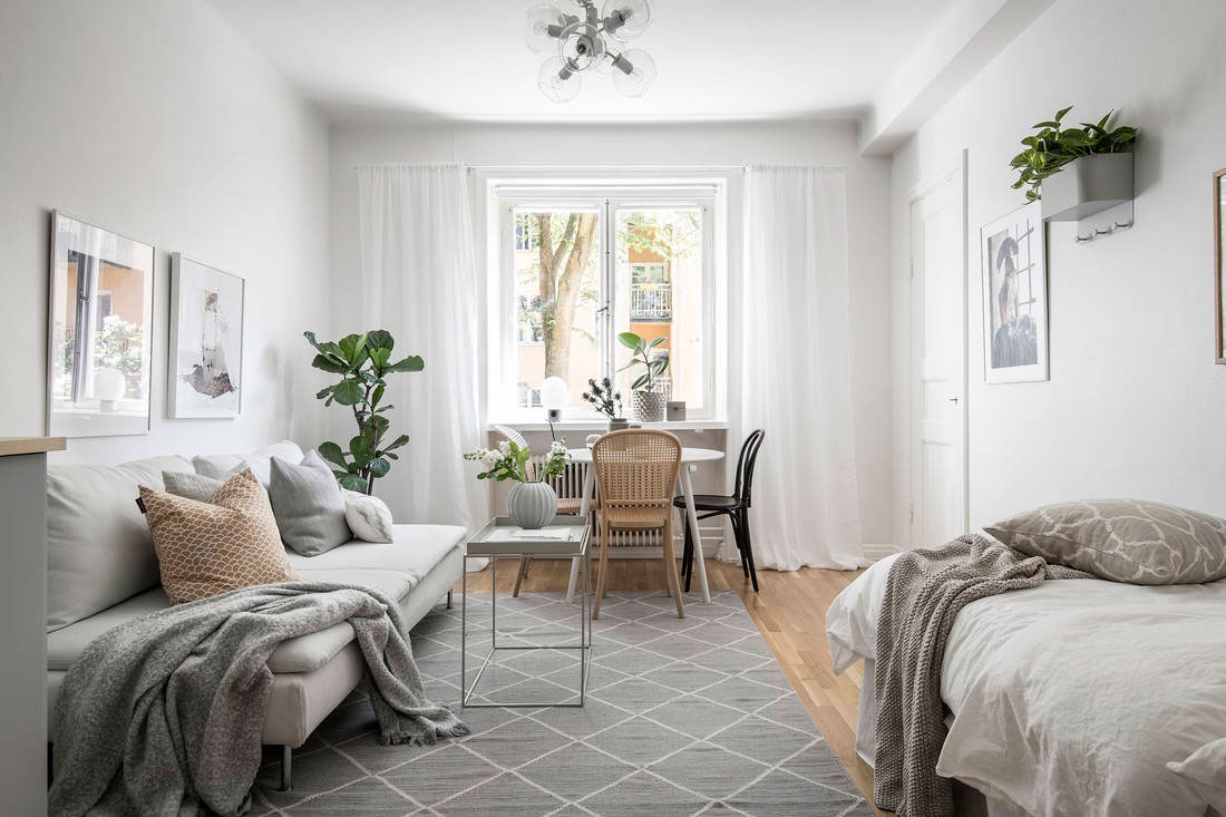 Kleine Apartments Small Space Roundup: 5 Stylish Studios Under 35 M² / 377