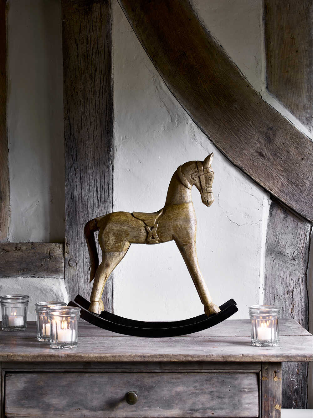 Vintage Fotos Vintage Rocking Horse | Decorative Wooden Rocking Horse