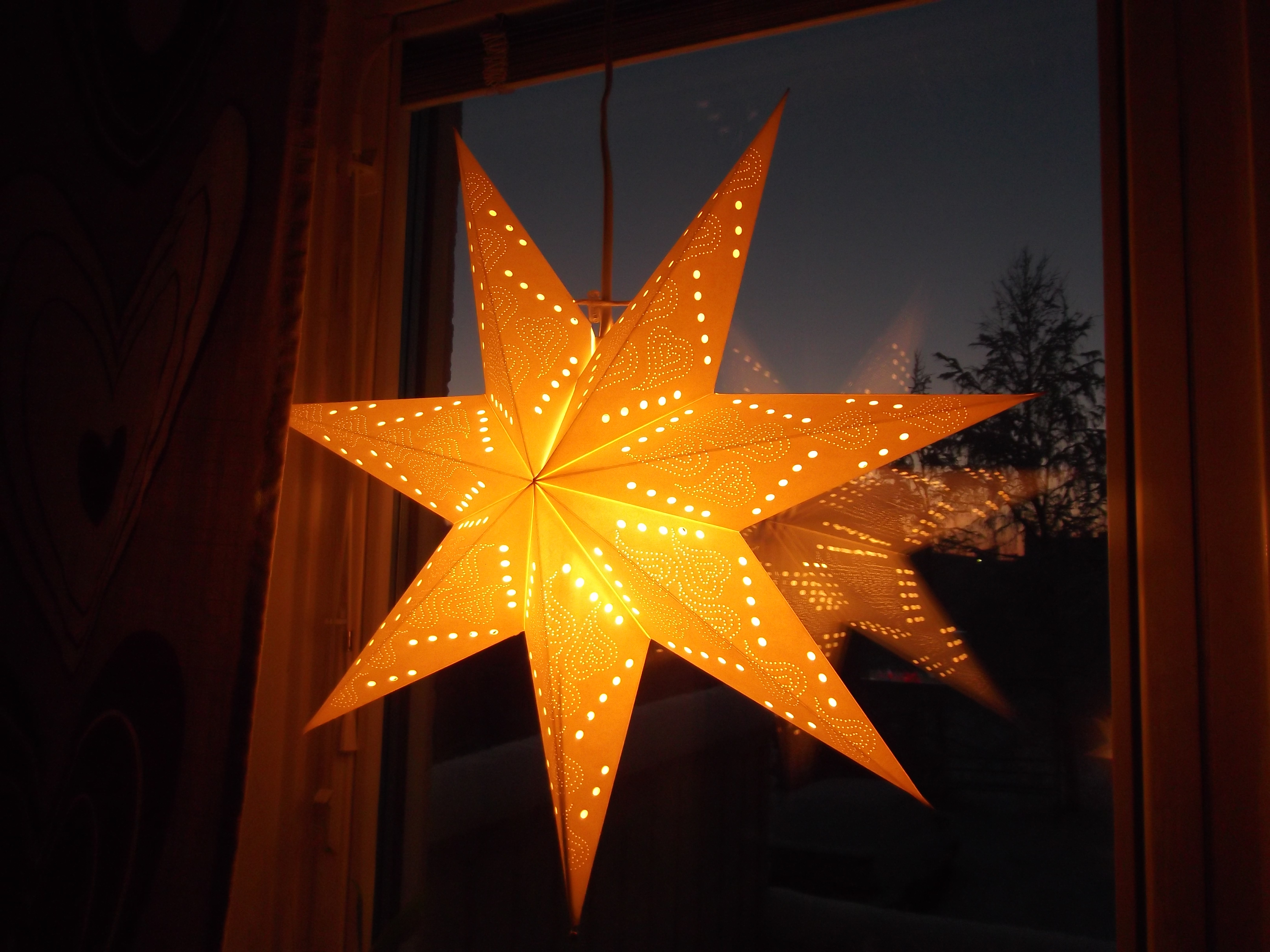Christmas Star Lights Advent A Nordic Influence