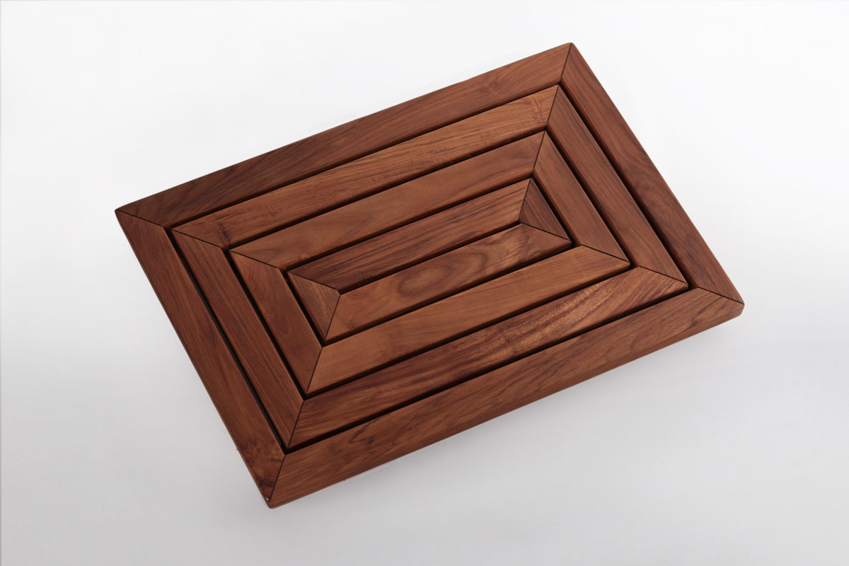 Shower Mat Teak Shower Mat 31 4 X 19 6 In Nordic Style Llc