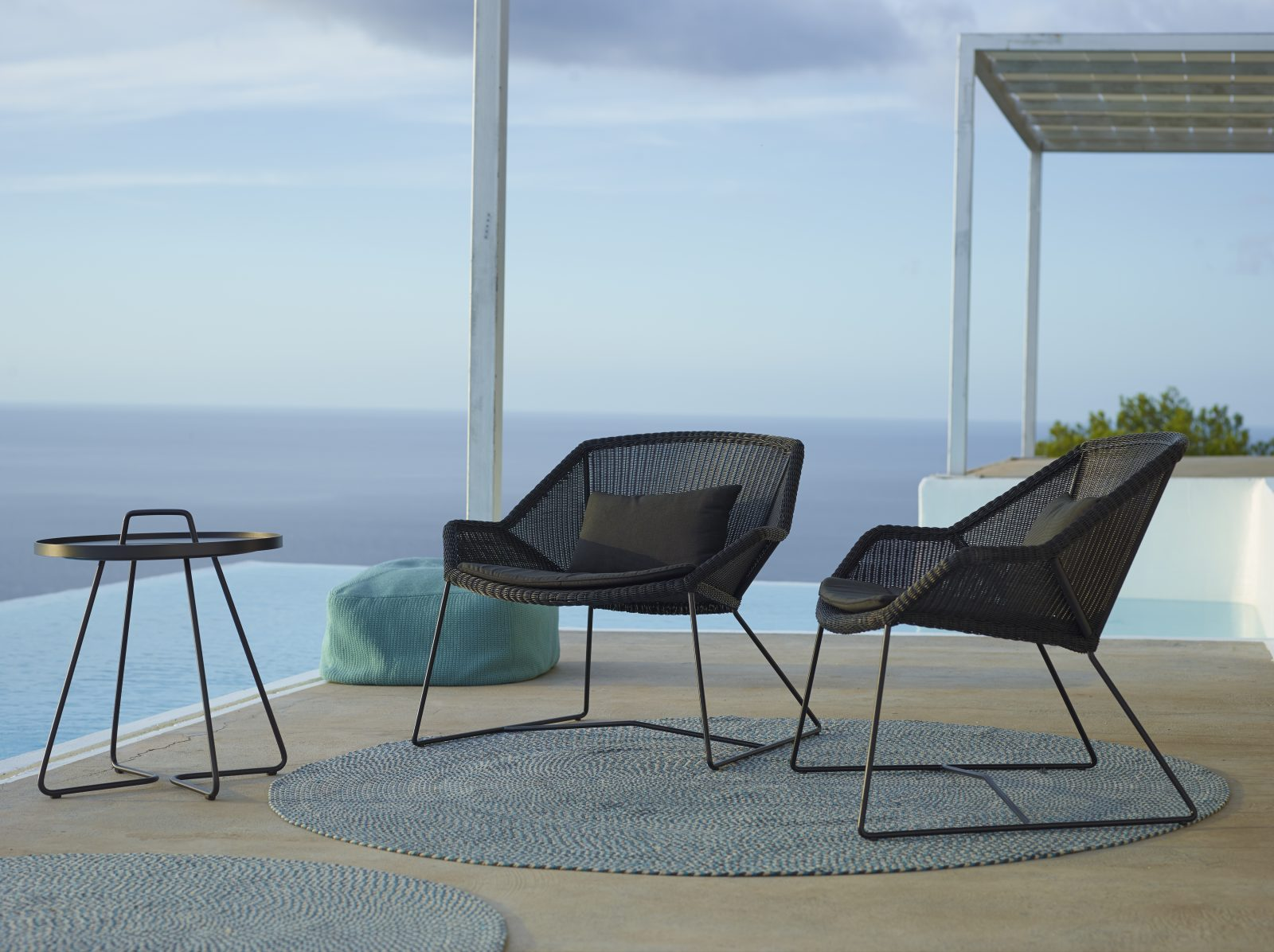 Lounge Sessel Berlin Cane Line Breeze Lounge Sessel