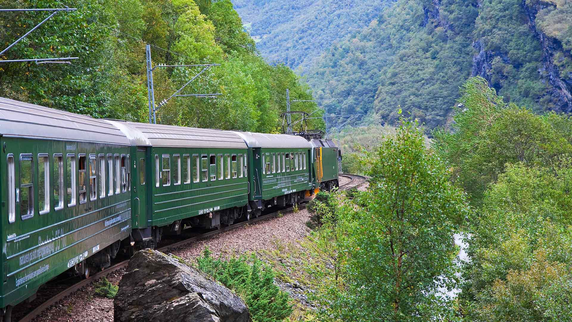 Norway Train Norway Complete Cruise Rail 13 Days 12 Nights Norway Fjord