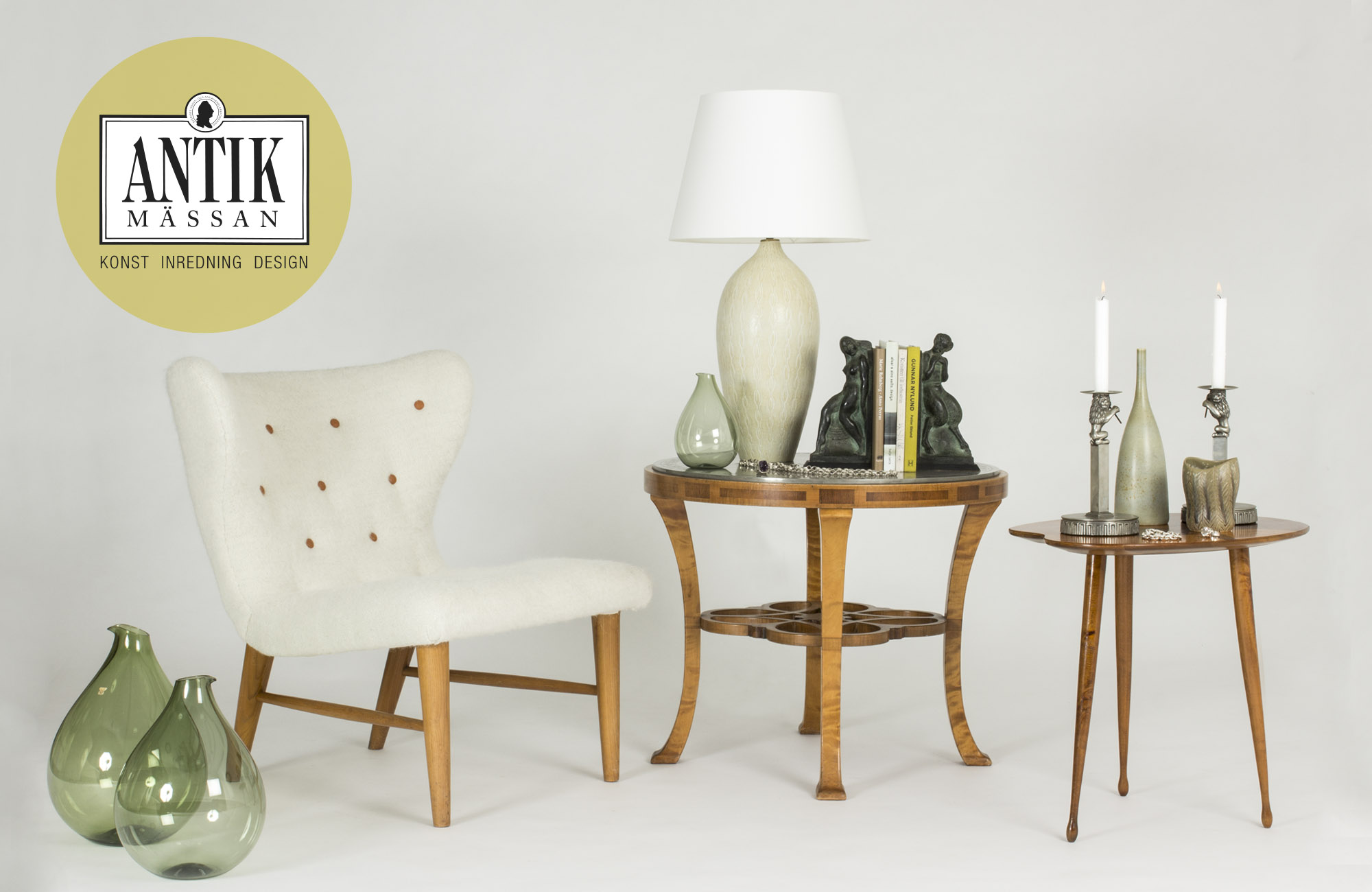 Antik Design Happening At Nordlings Vintage Mid Century Modern Decor For Sale