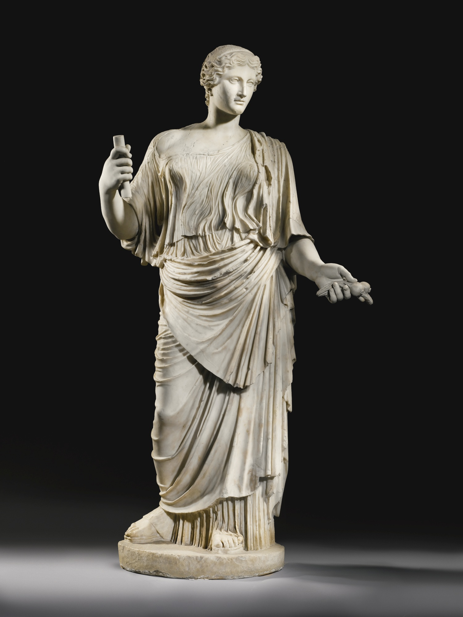 Ancient Greek Statues For Sale Aphrodite And The Aeneid Two Treasures At Sothebys