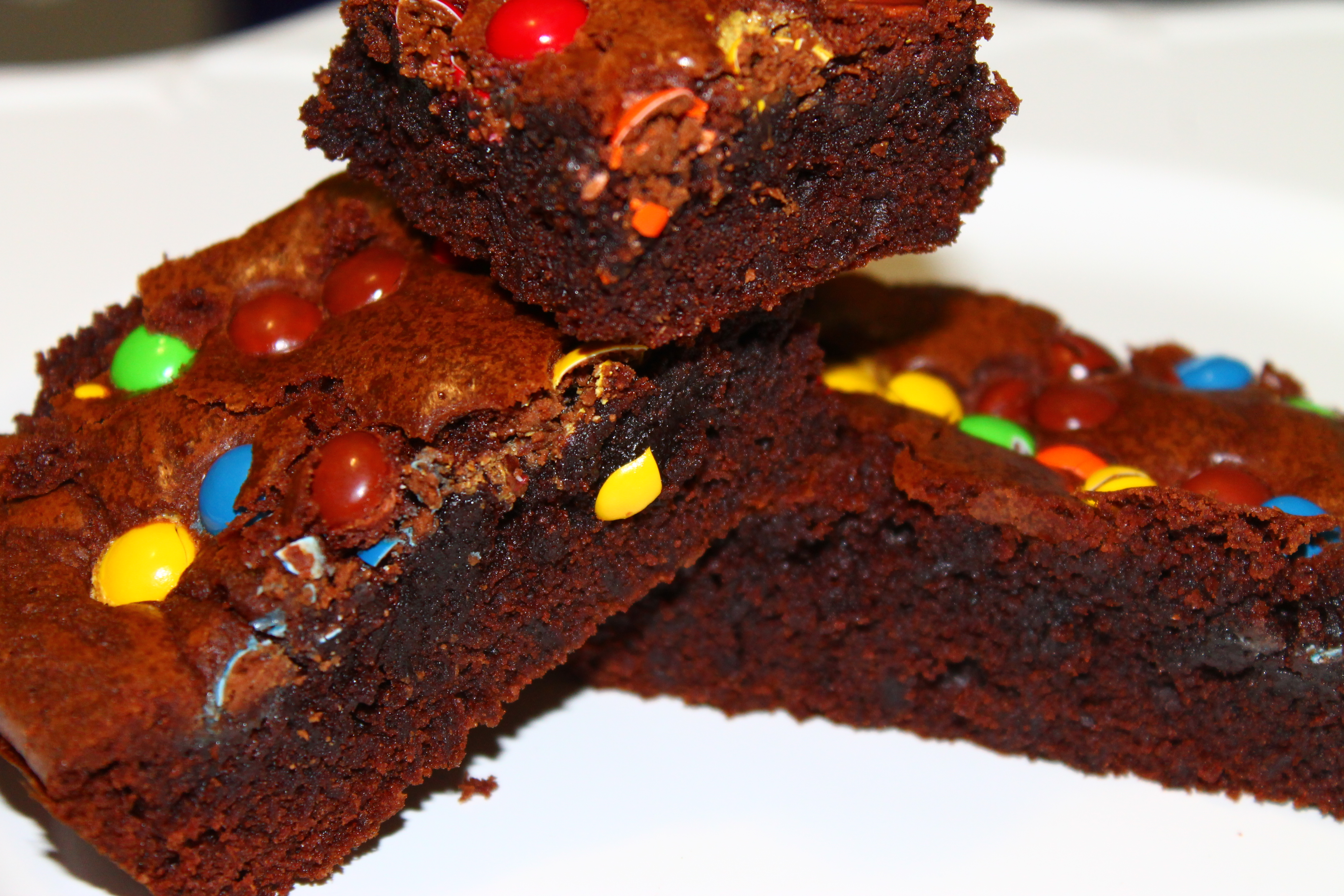 Cocoa Butter Brownie….and Friends. You Cannot Go Wrong With Smarties