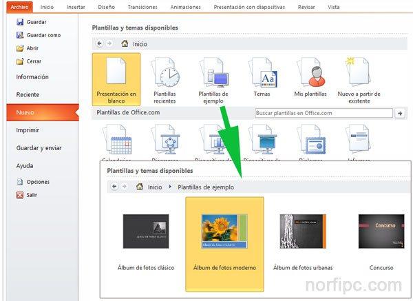 Como crear una presentación de diapositivas en PowerPoint - presentaciones powepoint