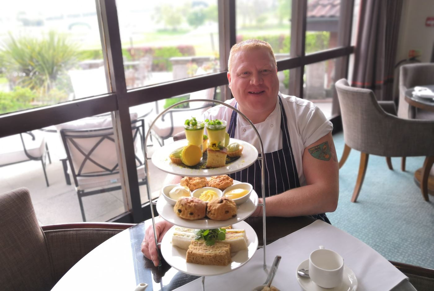 Chef Course Norwich Barnham Broom Celebrates Norwich Promotion With Themed