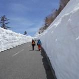 雪の壁観光