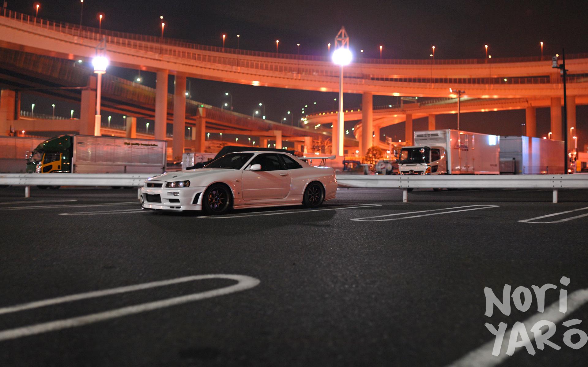 Skyline Car Wallpaper Hd Daikoku Futo Noriyaro