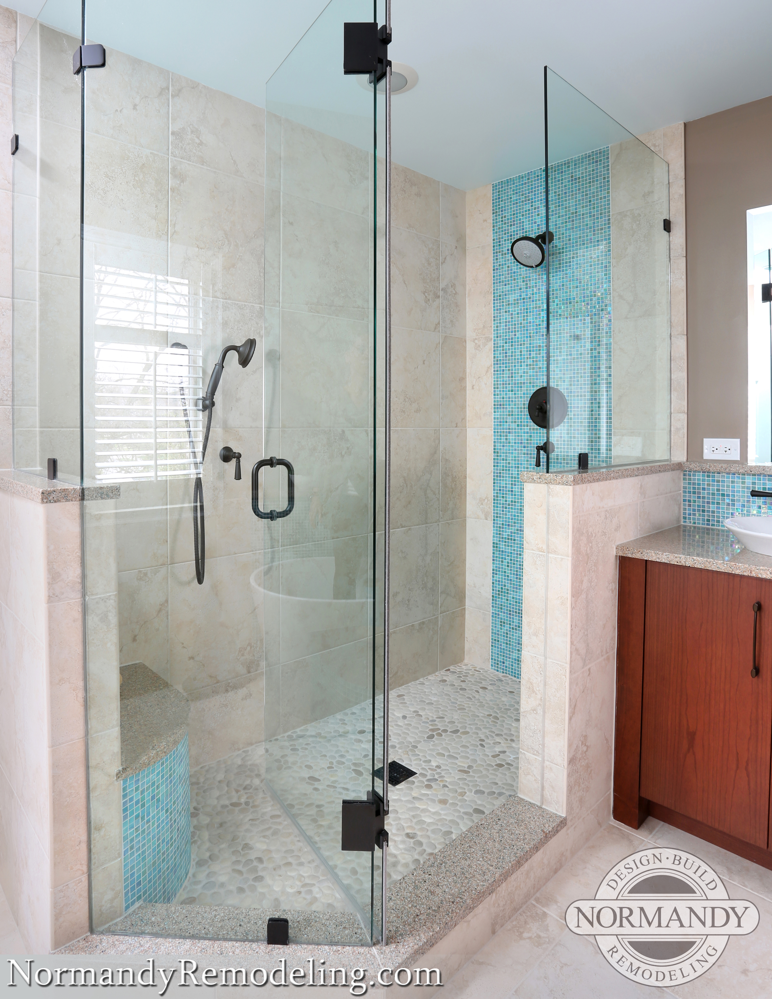 The Difference Between Frameless Showers Framed Showers And Semi Frameless Showers Normandy Remodeling