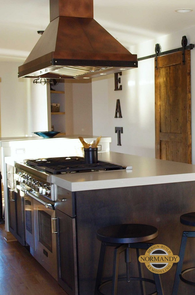 Custom Made Kitchen Islands Up-to-the-minute Kitchen Ideas: Metal Range Hoods