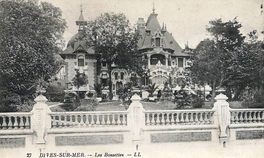 Villa Blankenese Ugly Beautiful In Dives-sur-mer - Normandy Then And Now