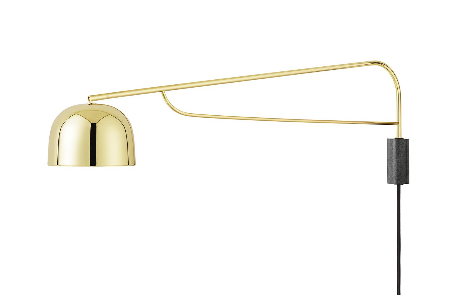 Swing Wall Lamp Grant Wall Lamp 111 Cm Brass