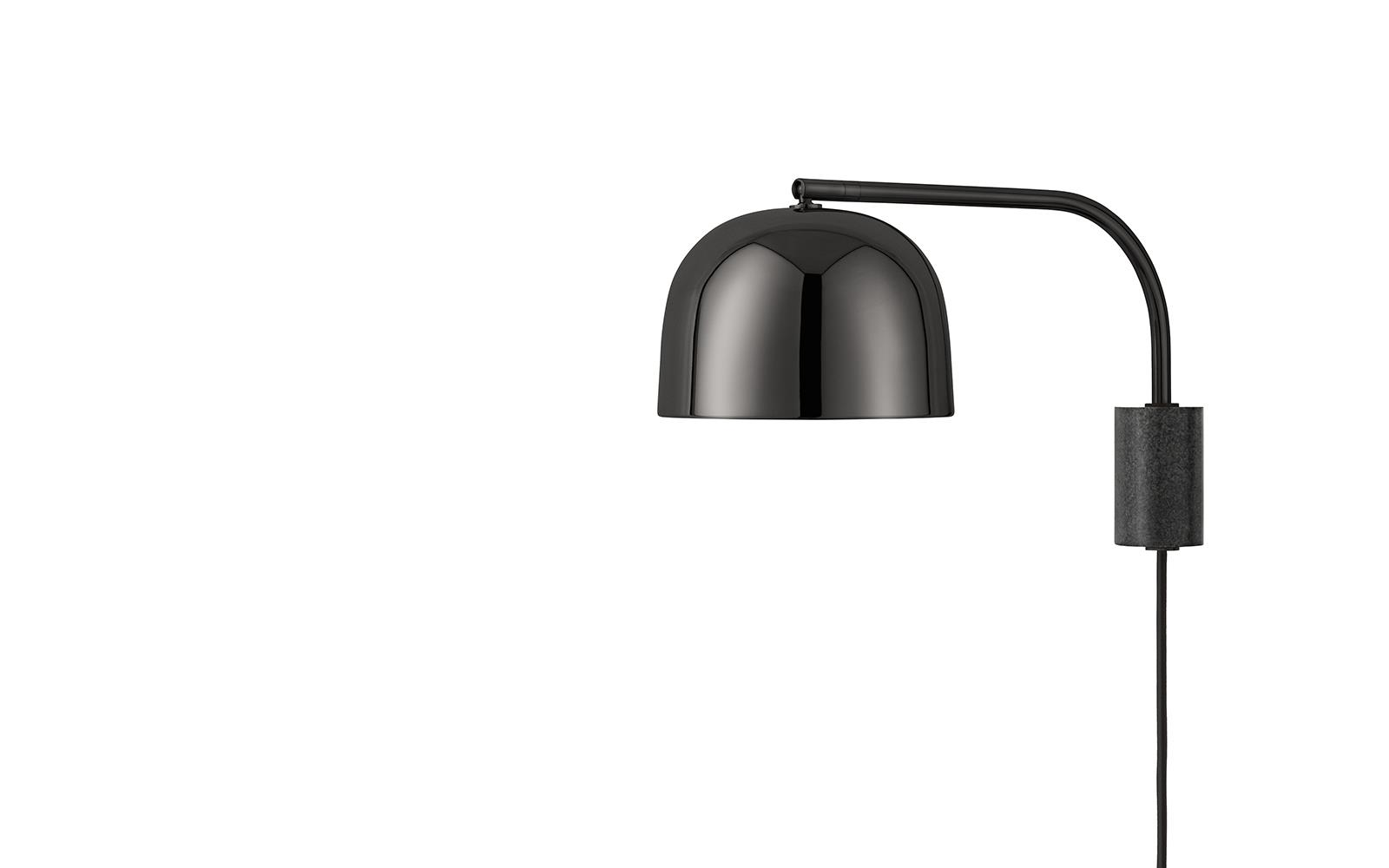Grant Lamp In Black Elegant Wall Lamp