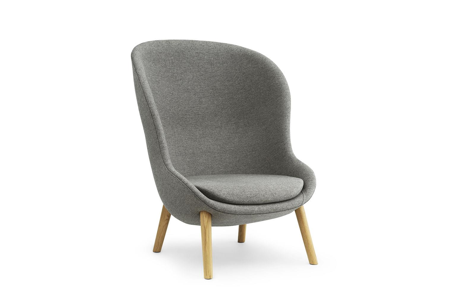 Loungsessel Hyg Lounge Sessel Hoch Eiche Main Line Flax