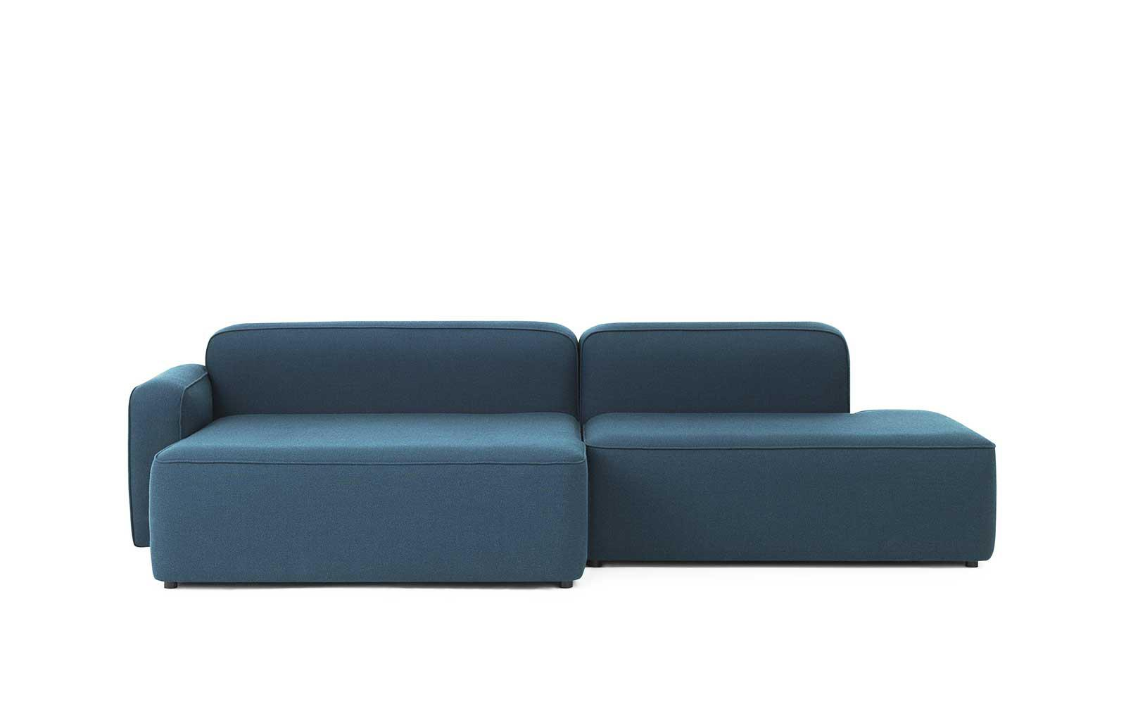 Sofa With Chaise Lounge Rope Sofa Chaise Lounge Left Fame Hybrid