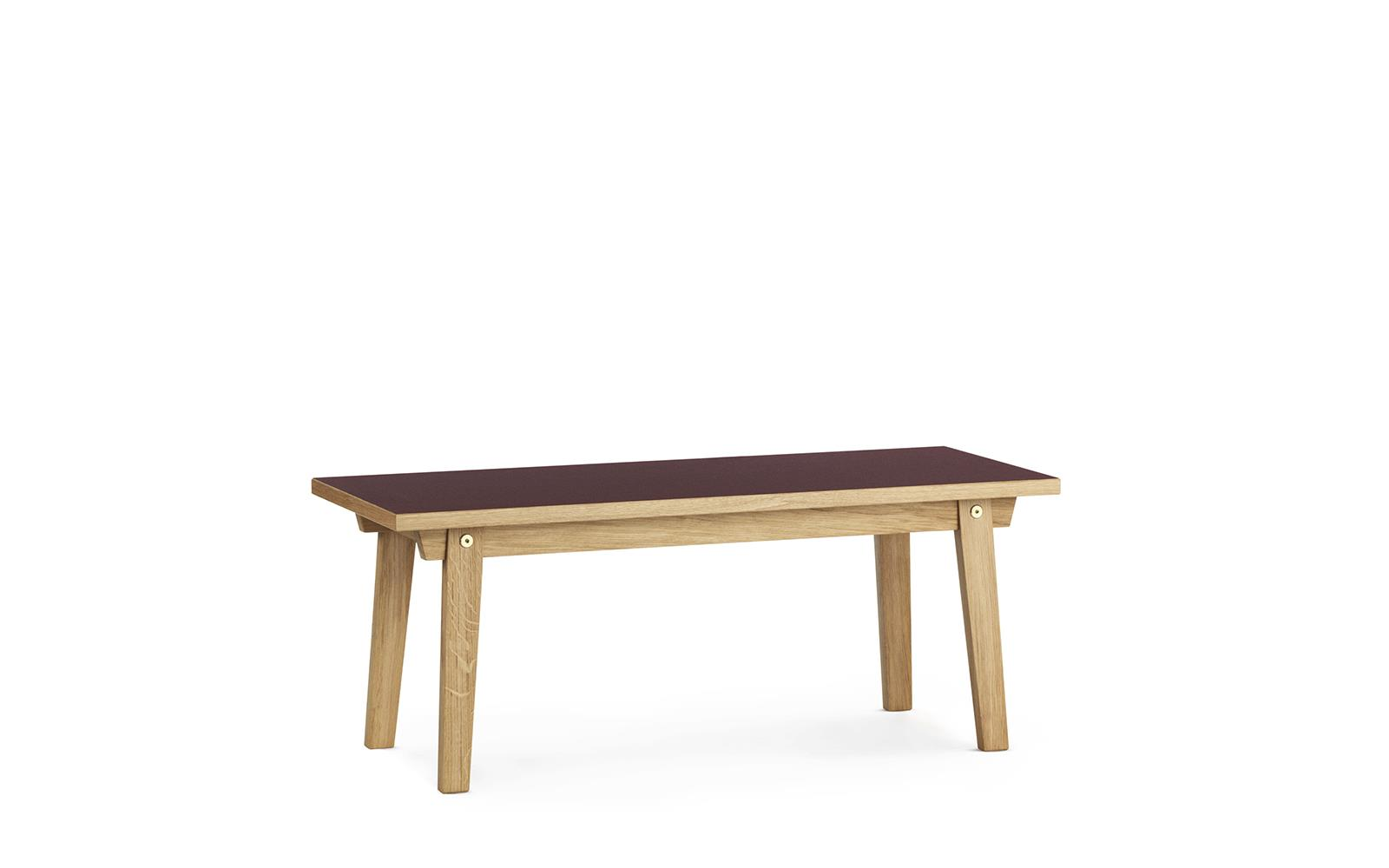 Design Couchtisch Spin Slice Coffee Table 42 X 100 Cm Linoleum