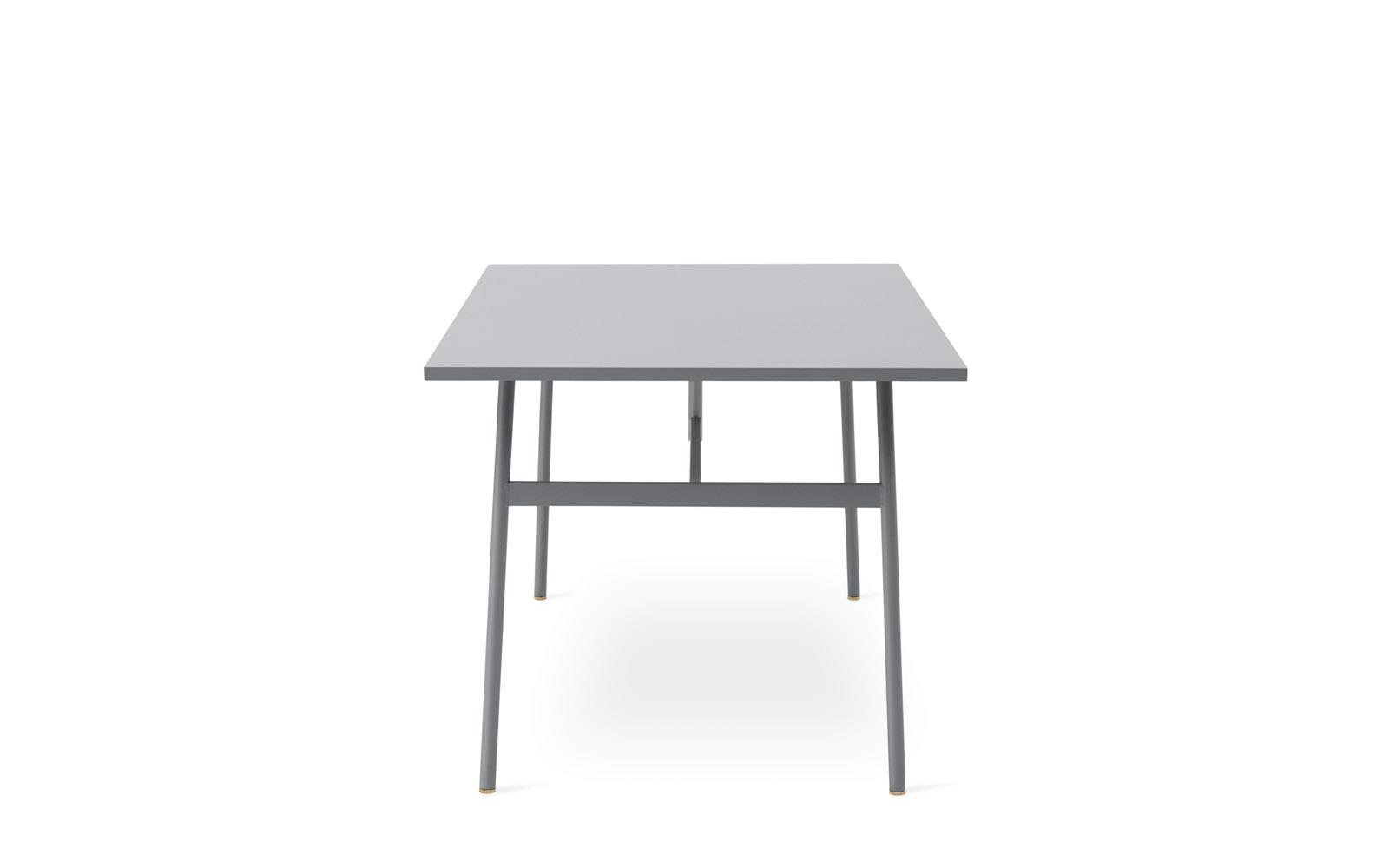 Table 140 Union Table 140 X 90 Cm Grey