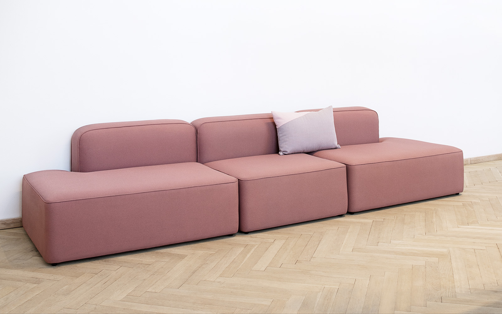 Sofa Module Rope Sofa 2 Sitzer Chaiselong Links Fame Hybrid