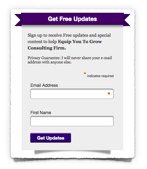 Subscription Form Image