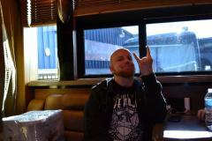 Jeremy on Bus