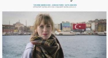 Norwegian journalist Silje Kampesæter is thrown out of Turkey