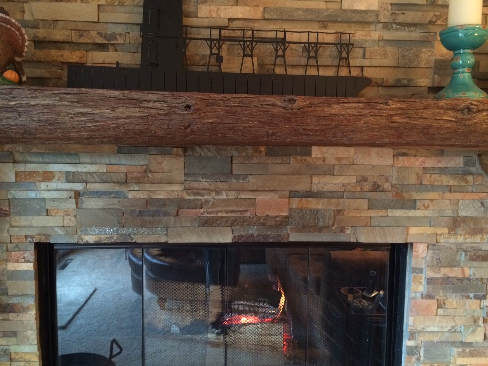 Fireplace Stone Common Problems With Stacked Stone Fireplaces