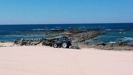 Praia VC limpeza