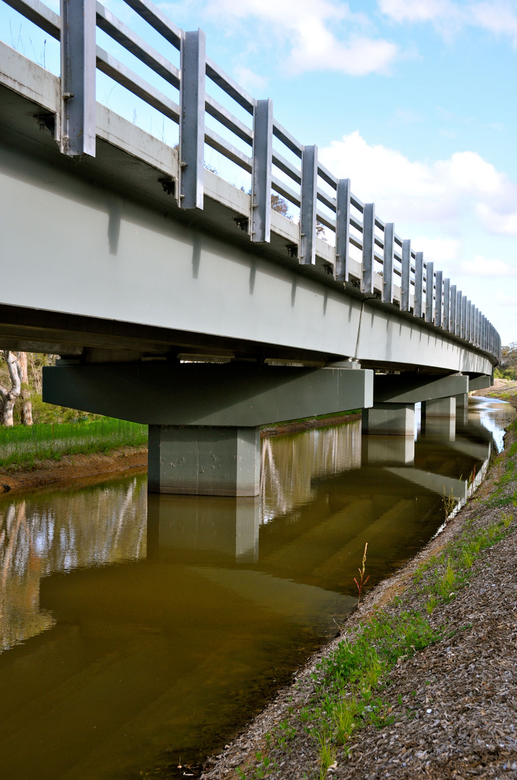 Precast Bridges Precast Projects North Vic Constructions