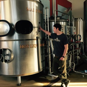 Private tour of the brewing facility.