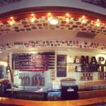 The Napa Smith Taproom bar.