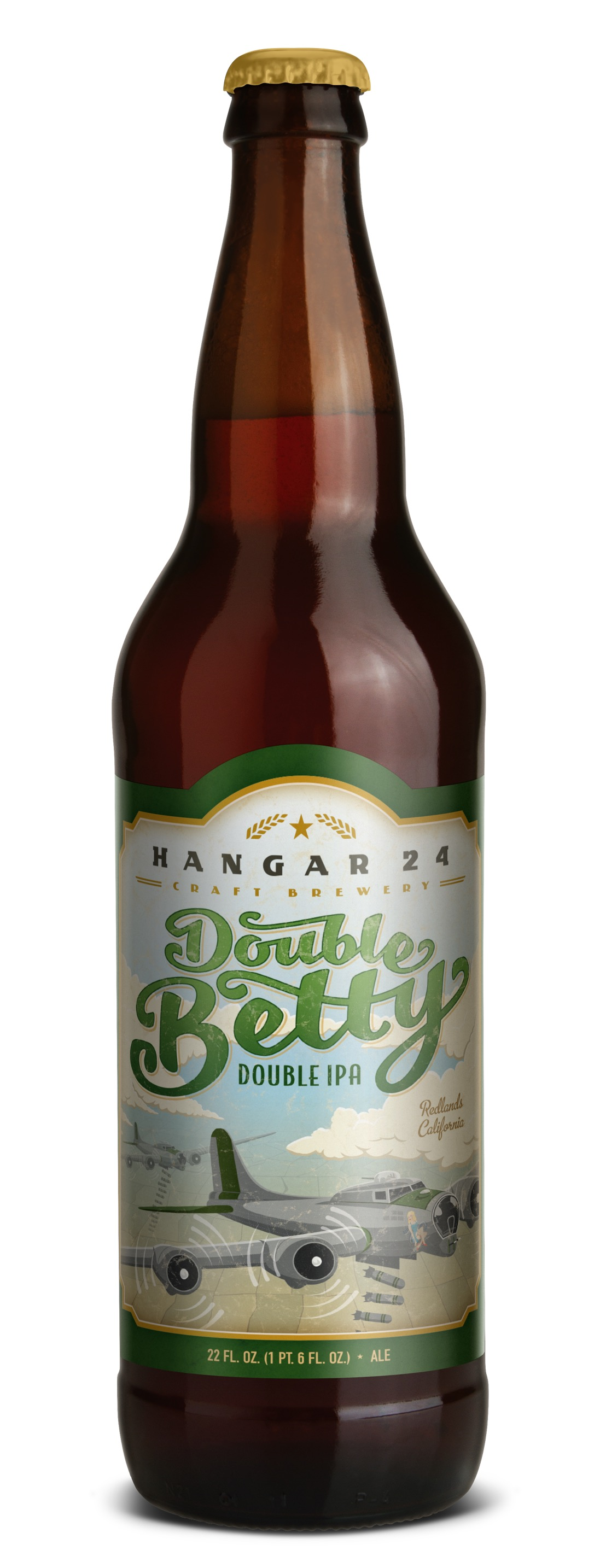 Beer Review: Hangar 24 Craft Brewery Double Betty IPA ...