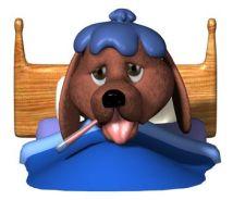 dog-sick-bed-cartoon-727388