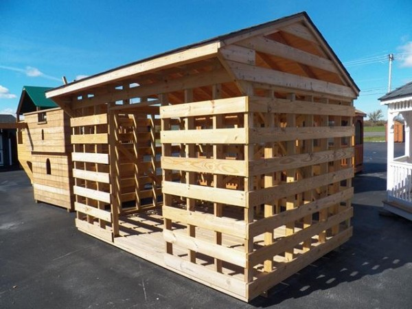 Wood Shed Prefab Firewood Storage North Country Sheds