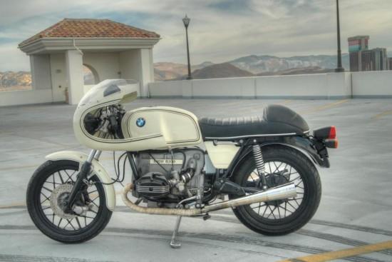 1980 BMW R100 Cafe L Side