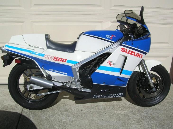 1986 Suzuki RG500 Gamma R Side