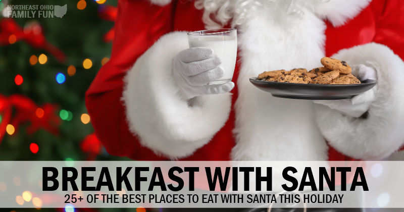 Breakfast with Santa - 25 of the Best Locations in Northeast Ohio