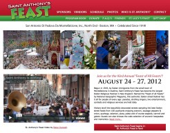 St. Anthony's Feast Website