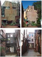 Lathrop Place Builidng Exterior - Before (left) and After (Source: Paul Revere House Memorial Association)