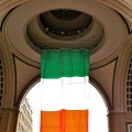 Irish Flag at Rowes Wharf - March 2011