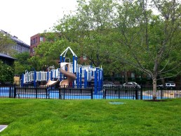 Tot Lot at Christopher Columbus Park (Photo by Matt Conti)